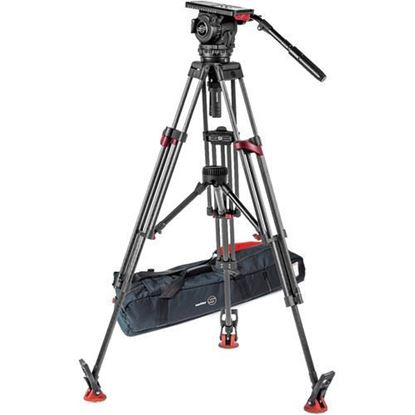 Picture of Sachtler Video 18 S2 Fluid Head & Speed Lock CF Dual-Stage Tripod System