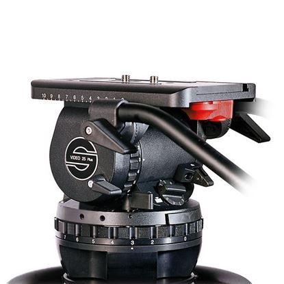 Picture of Sachtler VIDEO 25 PLUS FB Fluid Head (Flat Base)