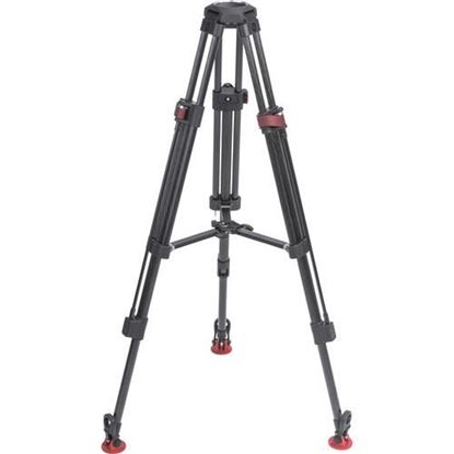 Picture of Sachtler Tripod Speed Lock 75 CF with set mid-level spreader 75