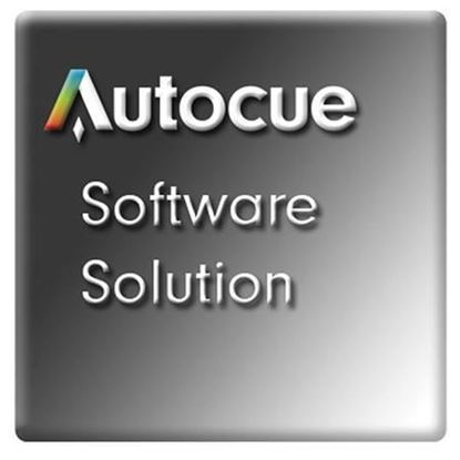 Picture of Autocue QPro Software with 2 Button Hand Control