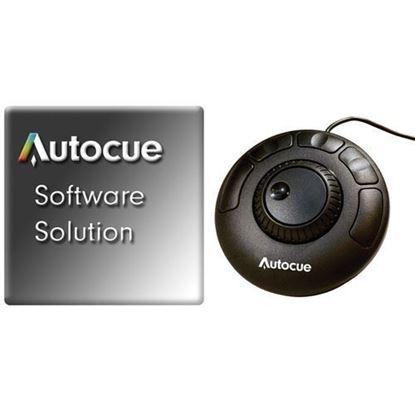Picture of Autocue QPro Software with ShuttleXpress Hand Control