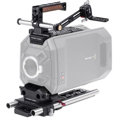 Picture of Wooden Camera - Blackmagic URSA Accessory Kit (Pro, 19mm)