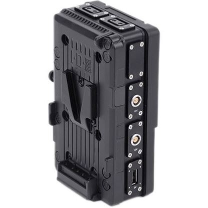 Picture of Wooden Camera - D-Box (2pin LEMO Compatible Kit, V-Mount)