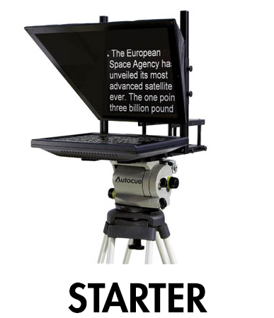 Picture for category Starter Series Teleprompters