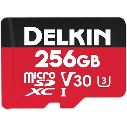 Picture of Delkin Devices 256GB Select UHS-I microSDXC Memory Card