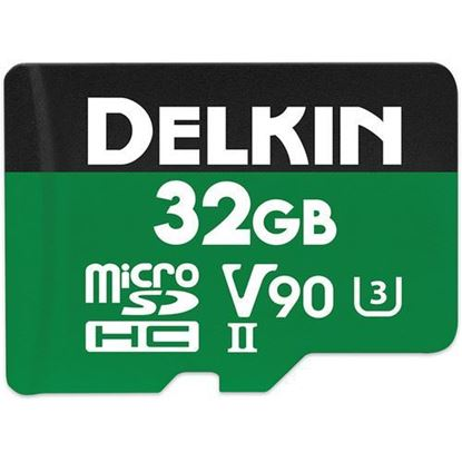 Picture of Delkin Devices 32GB Power UHS-II microSDHC Memory Card