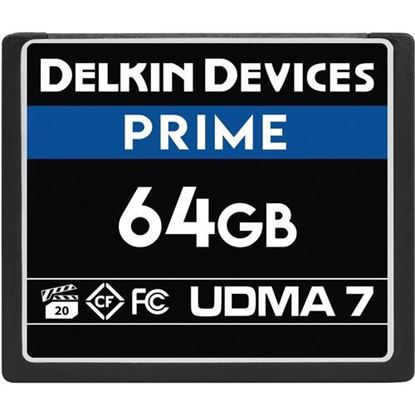 Picture of Delkin Devices 64GB Prime UDMA 7 CompactFlash Memory Card