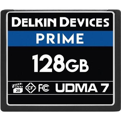 Picture of Delkin Devices 128GB Prime UDMA 7 CompactFlash Memory Card