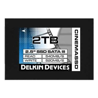 Picture of Delkin Devices 2TB (560MB/Sec) 2.5 Inch Cinema SSD Drive