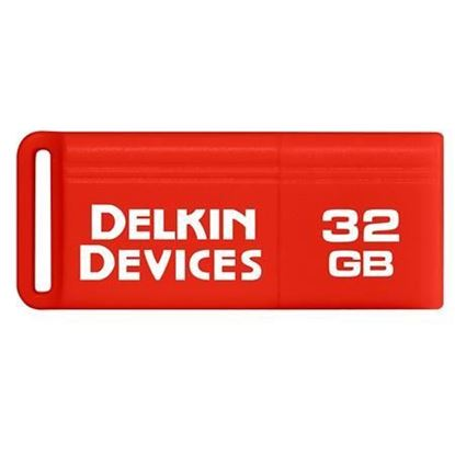 Picture of Delkin Devices 32GB PocketFlash USB 3.0 Flash Drive