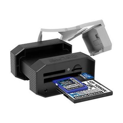 Picture of Delkin Devices BLACK USB 3.0 Rugged Multi-Slot Card Reader