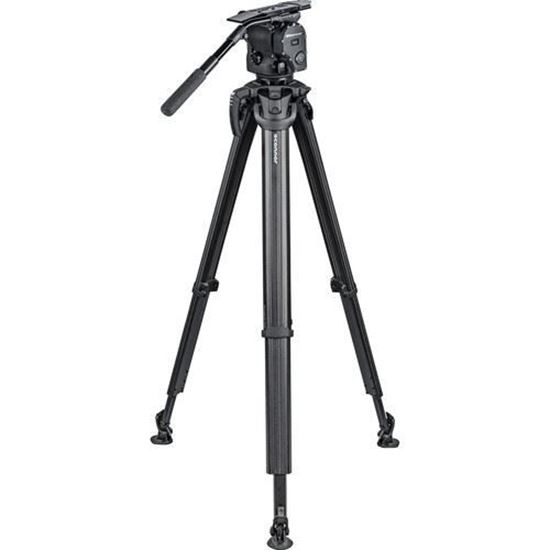 Picture of OConnor 1040 Fluid Head and flowtech 100 Tripod System with Handle and Case