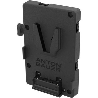 Picture of Anton Bauer Litepanels QRC-LG V-Mount with Stand Clamp